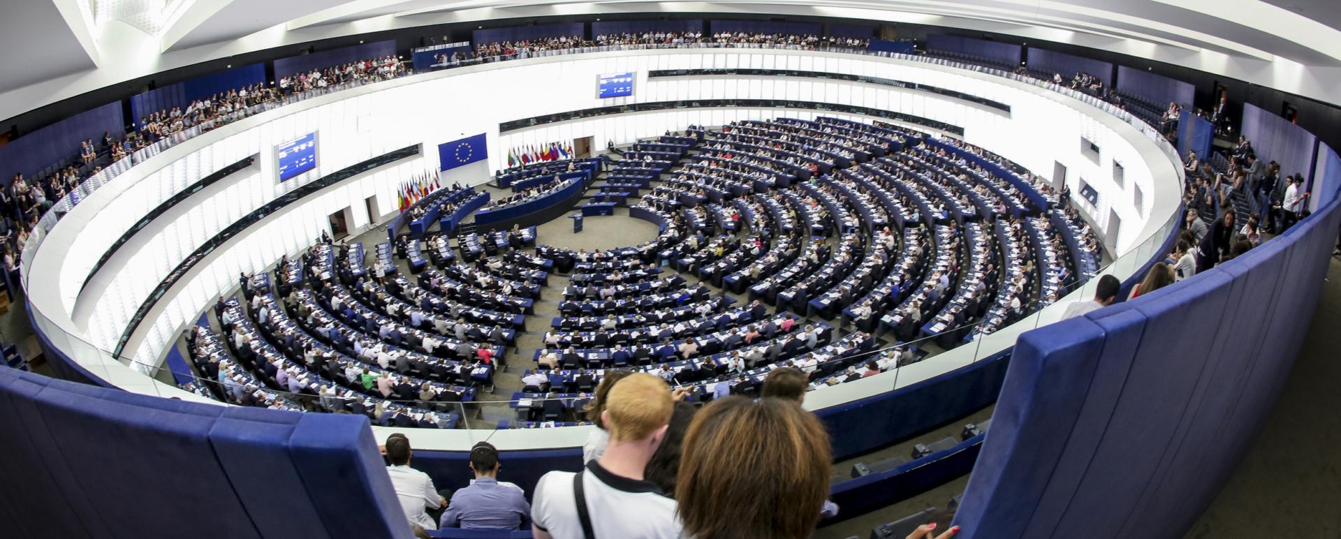 Hémicycle du Parlement Européen